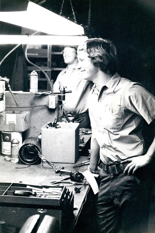 Paul Burnett Origional Owner ASLYN036
